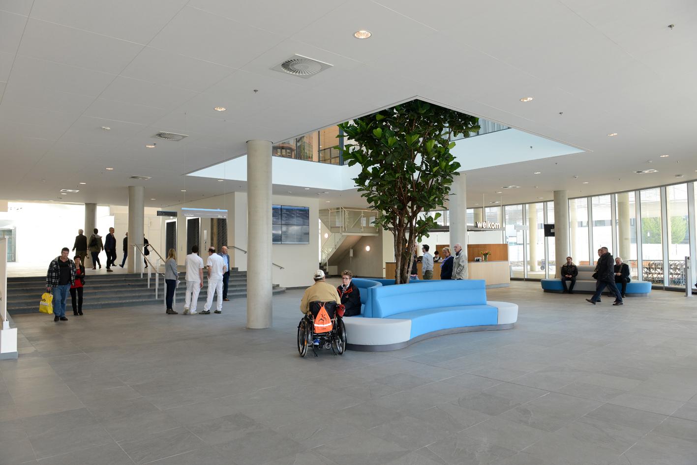 Catharina ziekenhuis eindhoven nieuwbouw entreehal projecten
