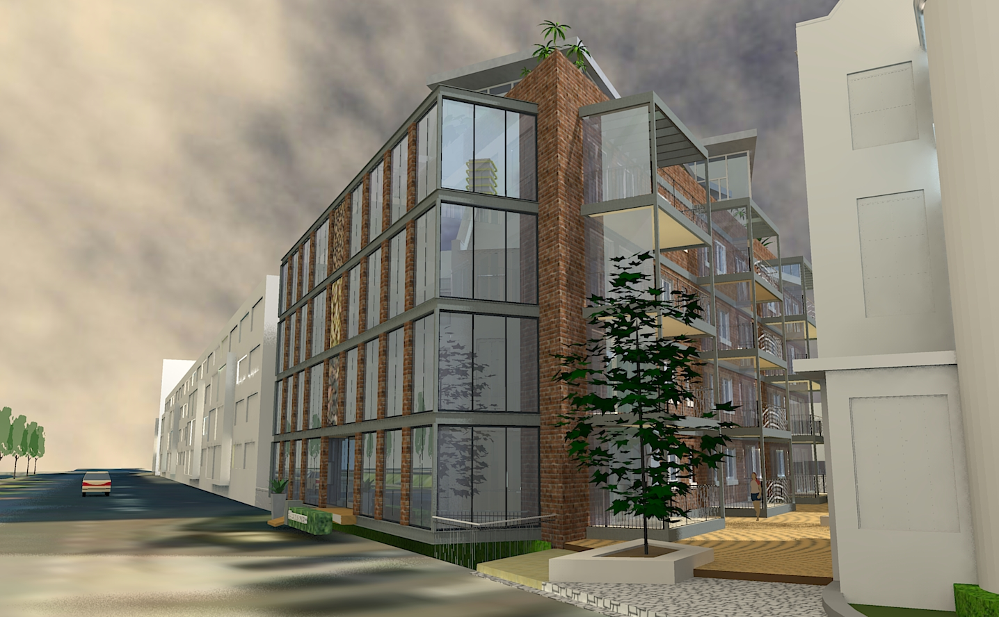 De Kade Eindhoven.Havenkwartier Eindhoven Projecten Architecten Aan De Maas